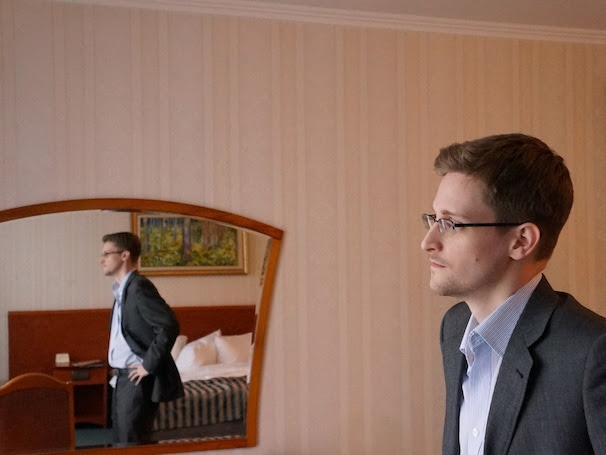 ** DO NOT REUSE. DO NOT DISTRIBUTE, NO WIRES, NO SHARING, NO SALES, NO TRADES. WASHINGTON POST NEWS SERVICE OK ** Edward Snowden photographed in Moscow, Russia December, 2013. (Photo by Barton Gellman for The Washington Post)