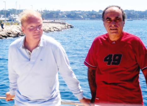 Brice Hortefeux et Ziad Takieddine.