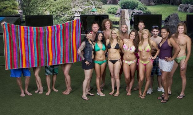 BB14 cast with 4 mystery mentors