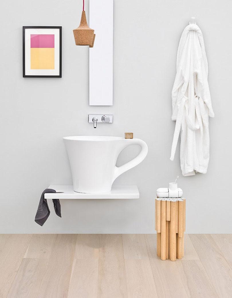 حمامات غير تقليدية بتصميمات ايطالية