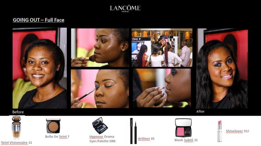 Lancôme 3 Axe with Labisi Folawiyo - BellaNaija - December2015016