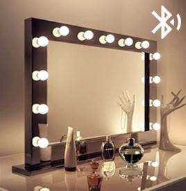 Hollywood Mirrors Hollywood Mirror With Lights Makeup Vanity