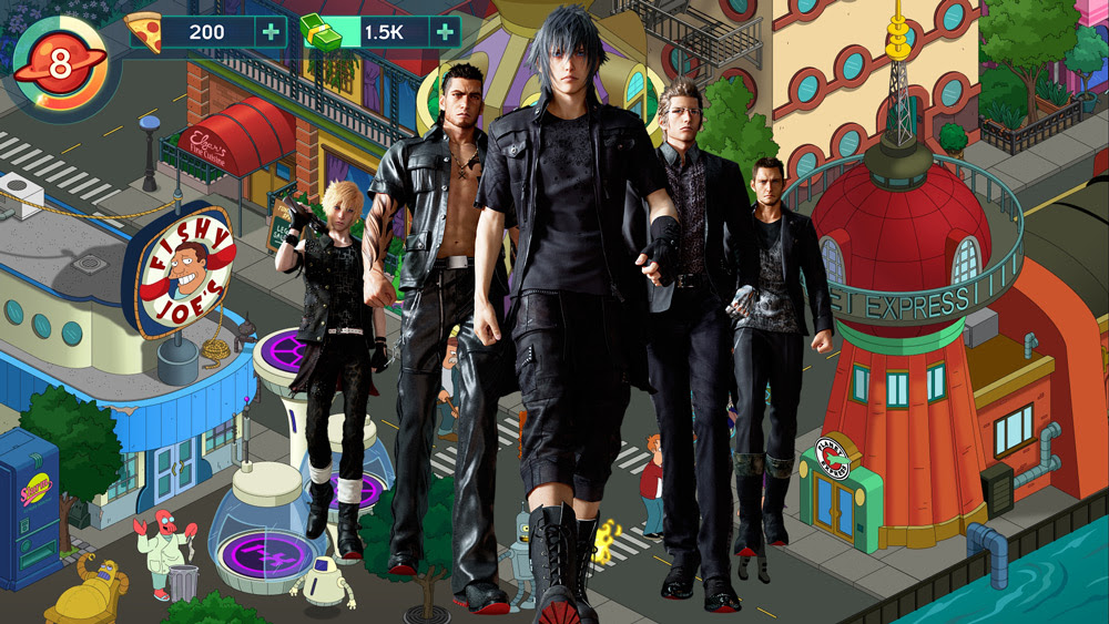 Which is worse: Final Fantasy XV: A New Empire or Futurama: Worlds of Tomorrow? screenshot