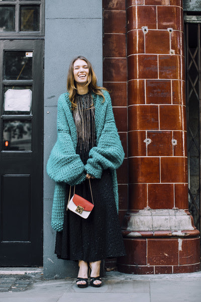 oversized sweater  the most inspiring street style at