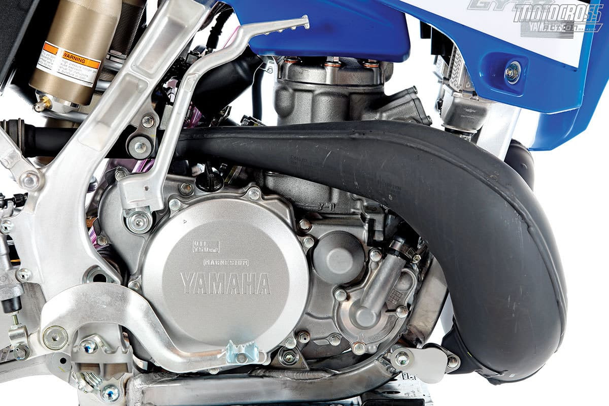 The YZ250 engine was ahead of its time ten years ago. Now it is behind the times due to the ever-improving KTM 250SX.