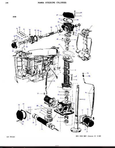 Wiring Diagram  30 Massey Ferguson Multi Power Diagram