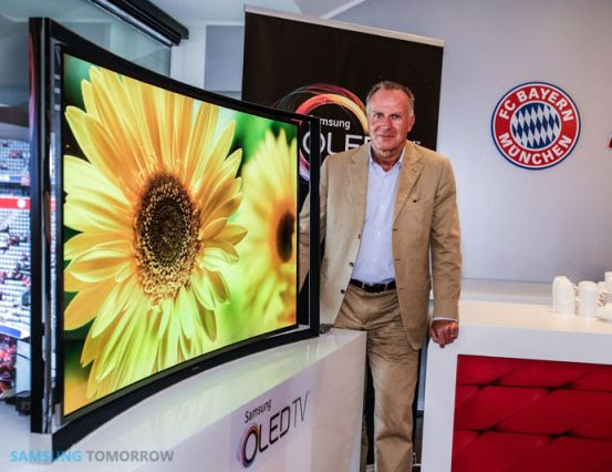 DNP Samsung's curved 55inch OLED hits Europe this week for 7999 euros