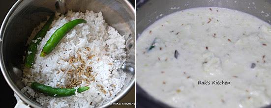 ezhu kari kootu recipe step 2