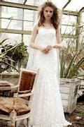 tea length wedding dress size  ebay