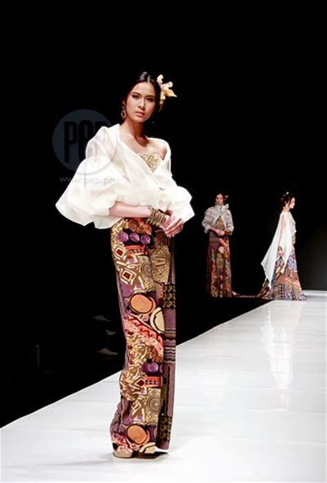 47 best images about Contemporary Filipiniana on Pinterest