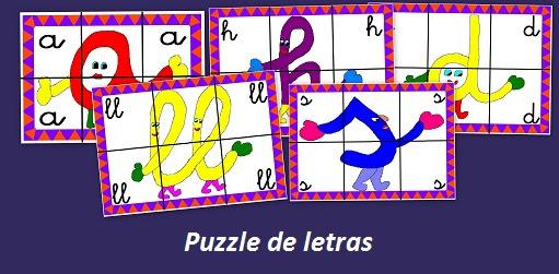 Picasa Crea entretenidos puzzles con las letras del abecedario