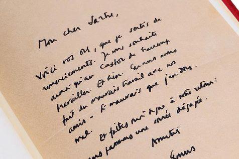 Camus-cartainedita