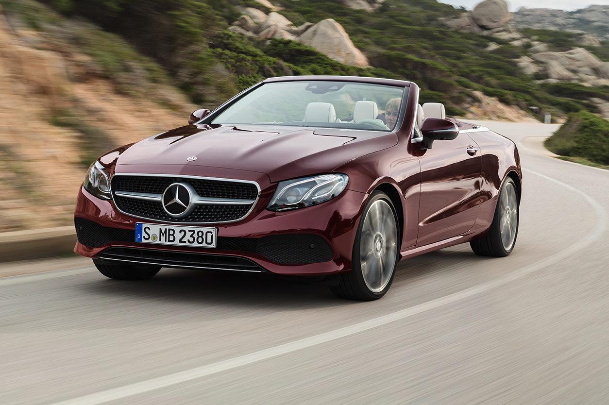 2018 Mercedes-Benz E-Class Cabriolet First Look - Motor Trend