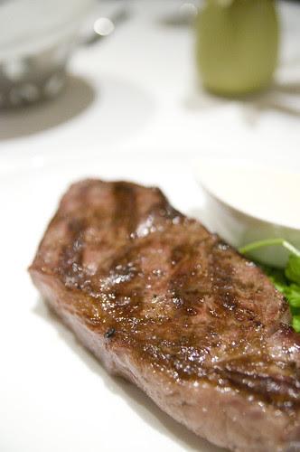 Certified Angus New York Strip Steak, Lark Creek Steak, San Francisco