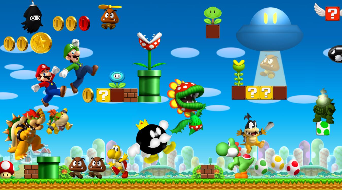 Mario Games Toon Toon