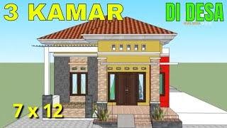 desain rumah minimalis ukuran tanah 7 x 10