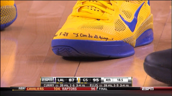 Message On NBA Player's Shoes Has People FREAKING OUT Over What It Represents