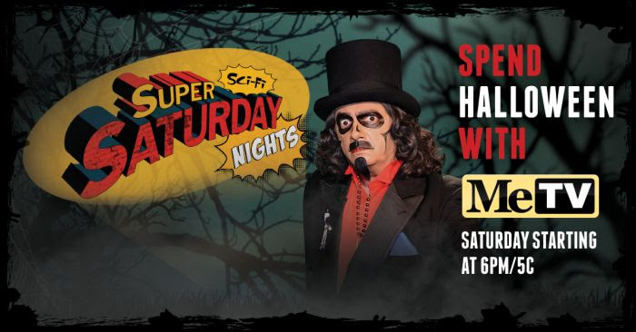 Spend Halloween with MeTV
