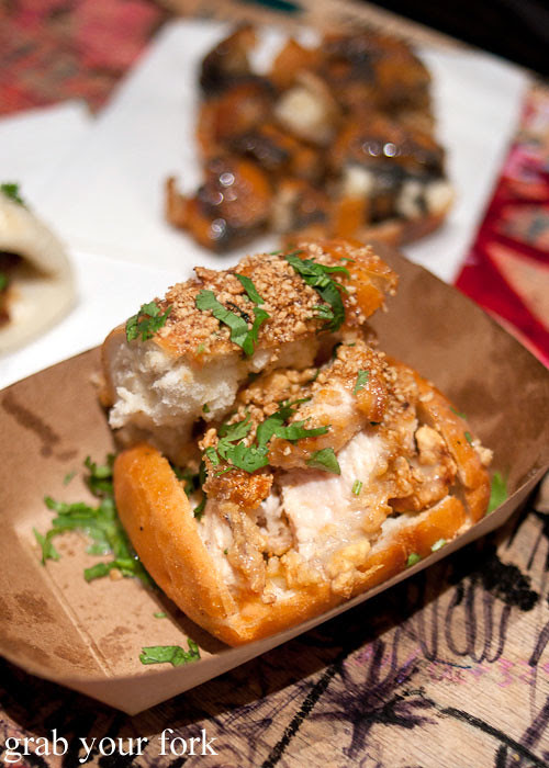 coffin bao fried chicken at baohaus new york nyc east village