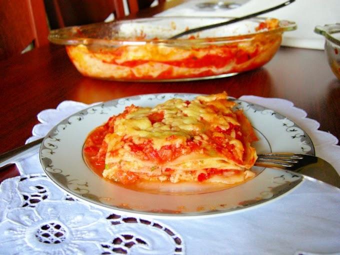 Lasagne di Magro {Etsiz Lazanya}