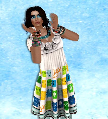 !gO! Vintage Girl Dress
