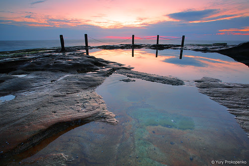 Sunrise @ South Coogee by -yury-