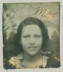 Photobooth Woman with smile