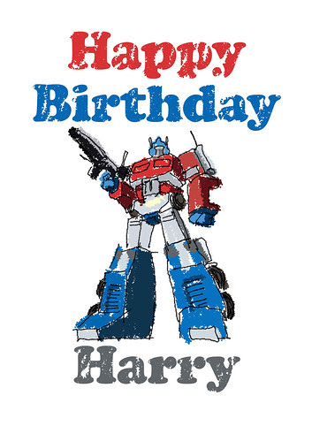 Happy Birthday Harry