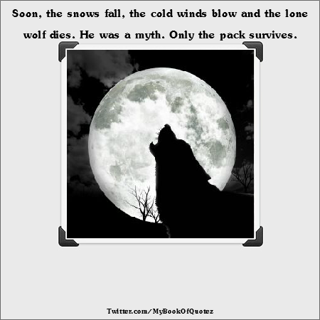 Quotes About Lone Wolf Quotes