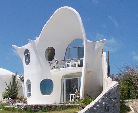 Σπίτι σε σχήμα κοχυλιού (4)