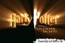 Harry Potter and the Chamber of Secrets trailers