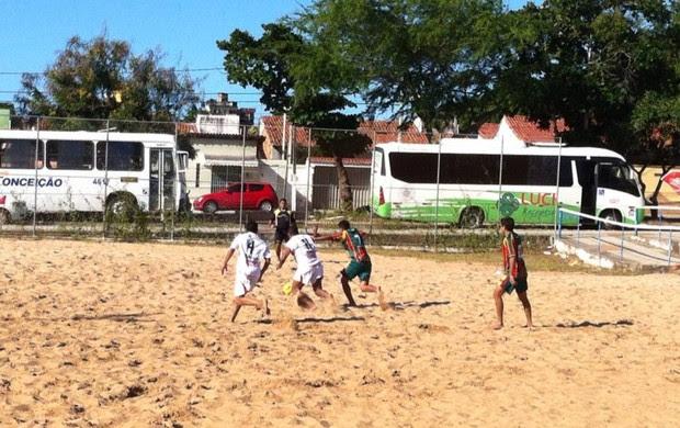 Circuito Nordeste de Clubes de Beach Soccer - CRB x Sampaio Corrêa (Foto: Divulgação)