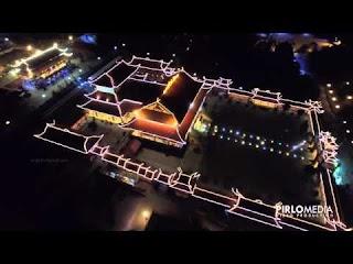 Quay phim flycam chuyên nghiệp tại Hạ Long - Chùa Ba Vàng Uông Bí