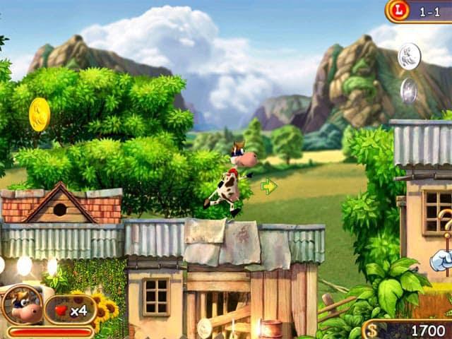 Supercow Free PC Game Screenshot