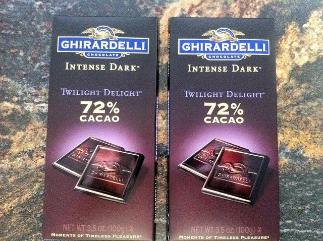 2 Dark Chocolate Bars