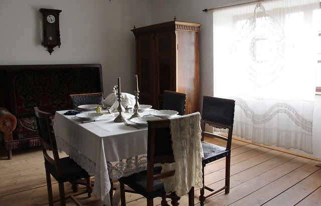 Jewish merchant's house from Mád