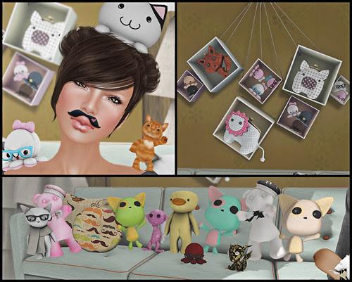 Plushie AA Meeting Collage