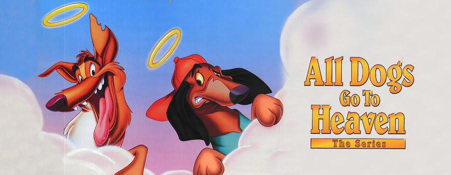 Risultati immagini per all dogs go to heaven tv series