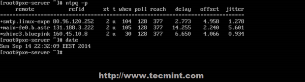 Verify NTP Server Time