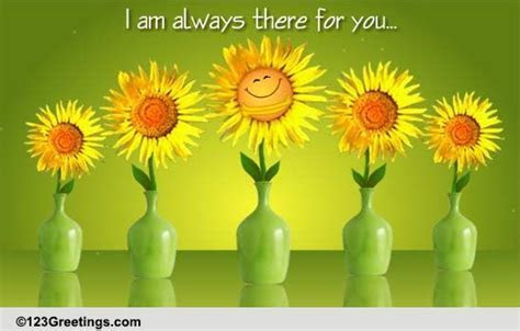 Sunflower Hugs! Free Encouragement eCards, Greeting Cards
