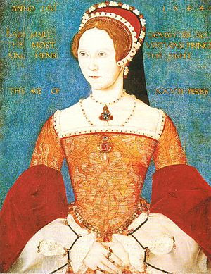 Mary I of England, at the time the Princess Ma...