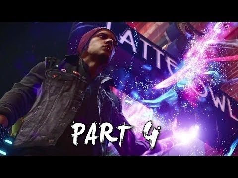 you movies : Gameplay Infamous Second Son Walkthrough Part 4 PS4 (Paper Trail)