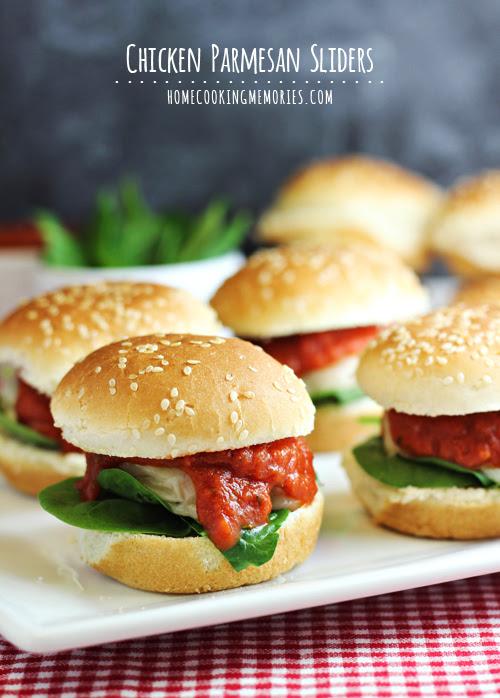 Chicken Parmesan Sliders | Julie's Eats & Treats