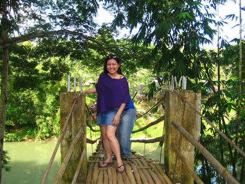 Me at the Hanging Bridge