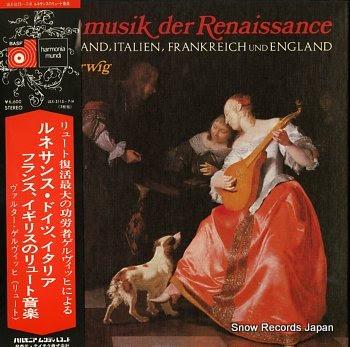 GERWIG, WALTER lautenmusik der renaissance