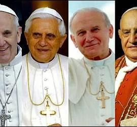 Todo listo para la canonización de los dos papas