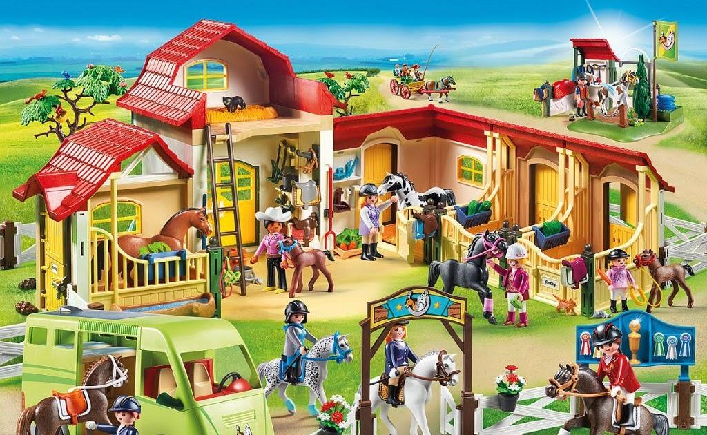 playmobil ausmalbilder pferde  schleich kleurplaat