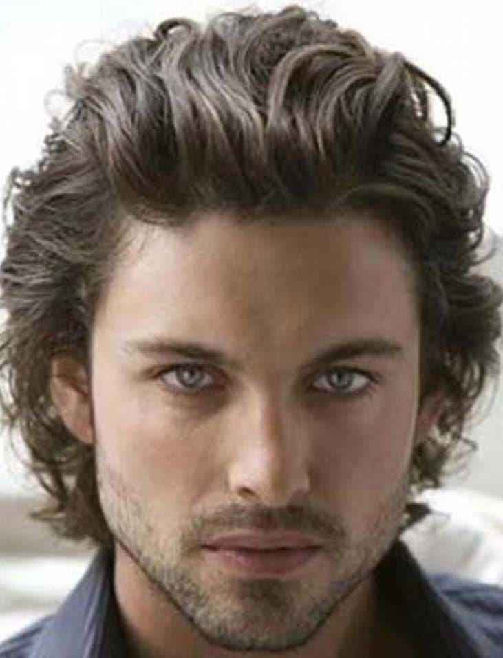 Style Hairstyle For Men Medium Long Hair
