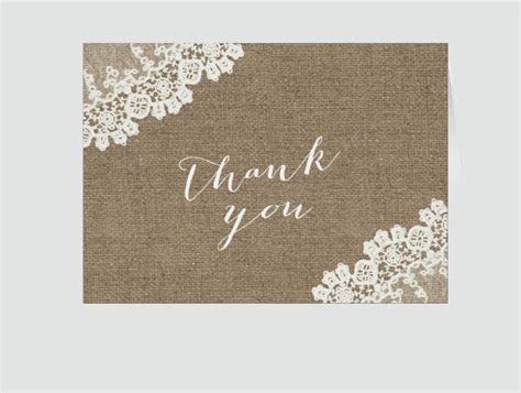 11  Rustic Thank You Cards   Design Trends   Premium PSD