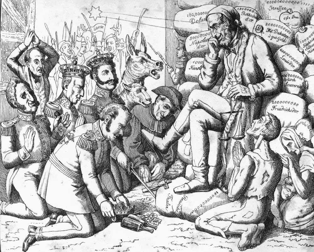 Ротшильды – подпольная империя ростовщиков